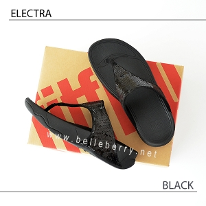 * NEW * FitFlop ELECTRA Classic : Black : Size US 9 / EU 41