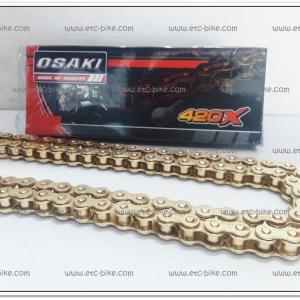 โซ่เลสทอง OSAKI 420-120 ข้อ