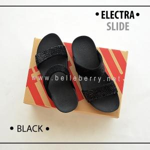 * NEW * FitFlop Electra Slide : Black : Size US 7 / EU 38
