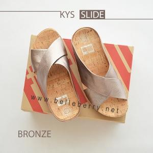 * NEW * FitFlop : KYS Slide : Bronze : Size US 7 / EU 38