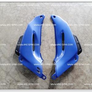 คอนโซลหน้า TENA-NEW สีฟ้าบรอนซ์/ดำด้าน