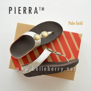 * NEW * FitFlop Pierra : Pale Gold : Size US 6 / EU 37