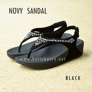 **พร้อมส่ง** FitFlop : NOVY SANDAL : Black : Size US 7 / EU 38