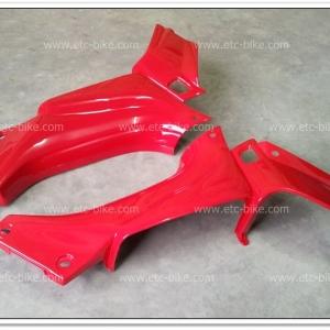 คอนโซลหน้า BELLE-R สีแดง