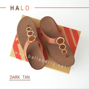 FitFlop : HALO : Dark Tan : Size US 6 / EU 37