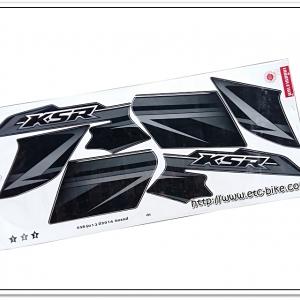 สติ๊กเกอร์ KSR ปี 2014 รุ่น 13 ติดรถสีดำ