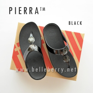 * NEW * FitFlop Pierra : Black : Size US 6 / EU 37