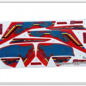 สติ๊กเกอร์ MSX-REDBULL ติดรถสีแดง