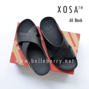 **พร้อมส่ง** FitFlop XOSA : ALL BLACK : Size US 8 / EU 41