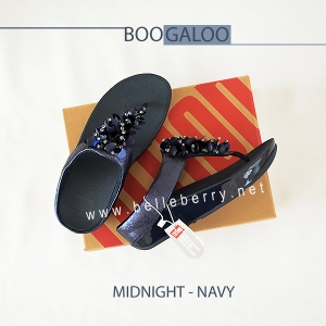 FitFlop : BOOGALOO : Midnight Navy : Size US 5 / EU 36