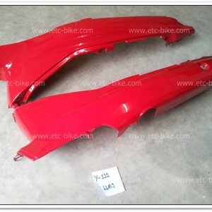 ฝาข้าง MATE-111 สีแดง