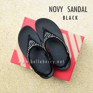 **พร้อมส่ง** FitFlop : NOVY SANDAL : Black : Size US 6 / EU 37