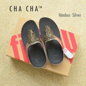 **พร้อมส่ง** FitFlop Cha Cha : Nimbus Silver : Size US 9 / EU 41
