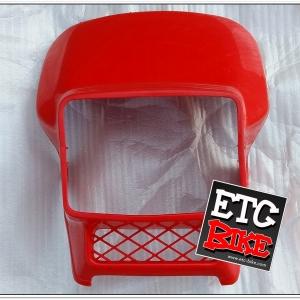 หน้ากาก MTX สีแดง แท้