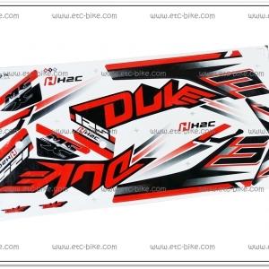 สติ๊กเกอร์ MSX-DUKE ปี 2015 สีขาว