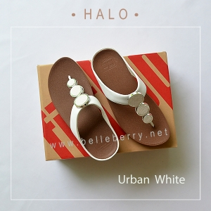 * NEW * FitFlop : HALO : Urban White : Size US 6 / EU 37