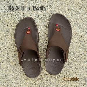 **พร้อมส่ง** FitFlop TRAKK II in Textile : Chocolate : Size US 10 / EU 43