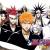 โมเดลบลีช/Bleach anime cartoon