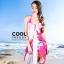 ผ้าคลุมชุดว่ายน้ำ ผ้าคลุมชายหาด ผ้าชายทะเล SH756 ผ้าชีฟอง size 150x100 cm thumbnail 2