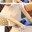 เสื้อทำงานแขนสั้นสีขาว แขนลูกไม้ แฟชั่นสวยหรู thumbnail 6