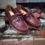 รองเท้าผู้ชาย | รองเท้าแฟชั่นชาย Brown Boat Shoes หนัง Oiled Pull Up thumbnail 1