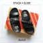 FitFlop : STACK SLIDE : Black : Size US 5 / EU 36