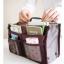 [มีหลายสี พร้อมส่ง] BAG100 ใหม่! Dual Bag in Bag กระเป๋าจัดระเบียบ สองซิป มีช่องแยกหลายช่อง ช่องซิปใส่ Tablet มือถือได้ มีหูหิ้ว thumbnail 7