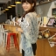 ผ้าพันคอวินเทจ ลาย Porcelain : ผ้า Viscose 160 x 75 cm สีขาว thumbnail 5