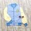 ขายส่ง:เสื้อคลุมแจ็คเก็ตยีนส์ทูโทนสีพาสเทลแบบน่ารัก/อก42 thumbnail 1