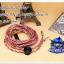 สายหูฟังเกรดพรีเมี่ยม เพียวทองแดง 5N ถัก8 คุณภาพเยียม (MMCX) (Volcano) thumbnail 1