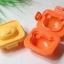 พิมพ์ไข่ต้ม ข้าวปั้น หน้าหมีคุมะ Rilakkuma แพ็ค 2 ชิ้น สามารถทำเป็นพิมพ์กดข้าว หรือ พิมพ์กดไข่ต้มก็ได้ thumbnail 2