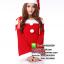 ชุดซานตาครอสสาว ชุดซานตี้ ชุดซานตาครอส ชุดแฟนซีซานต้า ชุดแฟนซี ชุดคอสเพลย์ ชุดแฟนซีสีแดง thumbnail 3