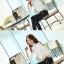 เสื้อเชิ้ตทำงานผู้หญิงแขนยาวแฟชั่นสีขาว thumbnail 9