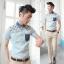 เสื้อผ้าผู้ชาย | เสื้อเชิ้ตผู้ชาย เสื้อเชิ้ตแฟชั่นชาย แขนสั้น แฟชั่นเกาหลี thumbnail 2