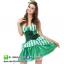 ชุดเจ้าหญิง ชุดคอสเพลย์เจ้าหญิง ชุดแฟนซีเจ้าหญิง ชุดแฟนซีสีเขียว thumbnail 2