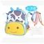 (ยีราฟ) กระเป๋าเป้ zoo pack พิเศษรุ่นซิปเป็นรูปสัตว์ตามแบบกระเป๋าค่ะ thumbnail 2