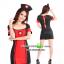 ชุดพยาบาลดำแดง ชุดแฟนซีพยาบาล ชุดแฟนซีอาชีพ ชุดแฟนซีเครื่องแบบ ชุดคอสเพลย์ ชุดพยาบาลหญิง thumbnail 3