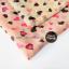 ผ้าพันคอลายหัวใจ Heart Scarf (สีชมพู) ผ้าชีฟอง 160x60 cm thumbnail 3