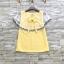 ส่ง:เสื้อแต่งต่อระบายช่วงบนแบบน่ารัก/อก36 thumbnail 1