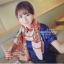 ผ้าพันคอแฟชั่นลายโซ่ Chiffon Chain : สีแดง : ผ้าพันคอ Silk Chiffon 160x60 cm thumbnail 10