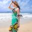 ผ้าคลุมชุดว่ายน้ำ ผ้าคลุมชายหาด ผ้าชายทะเล SH774 : ผ้าชีฟอง size 140x80 cm (มีสายคล้องแขน) thumbnail 2
