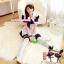 ชุดเมดเอี๊ยมขาวน่ารัก ชุดคอสเพลย์ ชุดแฟนซีอาชีพ ชุด maid ชุดแฟนซีน่ารัก ชุดแฟนซีญี่ปุ่น thumbnail 1