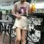 ส่ง:งานจีนเสื้อลูกไม้แต่งผ้าลายหน้าเด็กผู้หญิงแบบน่ารัก/อก36 thumbnail 2