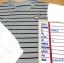 ส่ง:เสื้อเสมือน2ชั้นหลอกแบบเก๋ๆน่ารัก/อก32-34 thumbnail 2