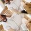 เสื้อทำงานแฟชั่นแขนสั้นสีขาว สวยหรู thumbnail 8