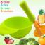 ชุดชาม บด อาหารเด็ก + ด้ามบดอาหาร สีเขียว thumbnail 1