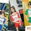 ส่ง:งานจีนเช็ท2ชิ้นแบบเก๋ๆ/เสื้ออก35+กางเกงสม็อกเอวยืดได้22-36 thumbnail 2