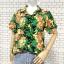 ส่ง:เสื้อปกฮาวายลายดอกสดใสผ้าสปันนิ่มใส่สบาย/อก38 thumbnail 1