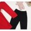 เซต 2 ชิ้น สุดคุ้ม เดรสกระโปรงแดงผ้าเนื้อหนา (ปกเสื้อเป็นหนังเทียม) + เลคกิ้ง (เหมาะสำหรับอากาศค่อนข้างเย็นค่ะ) thumbnail 6
