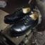 รองเท้าผู้ชาย | รองเท้าแฟชั่นชาย Black Safety Shoes Oiled Pull Up Leather thumbnail 1